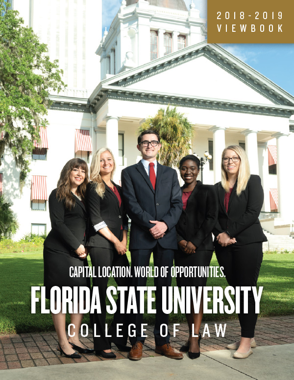 FSU LAW Viewbook Cover