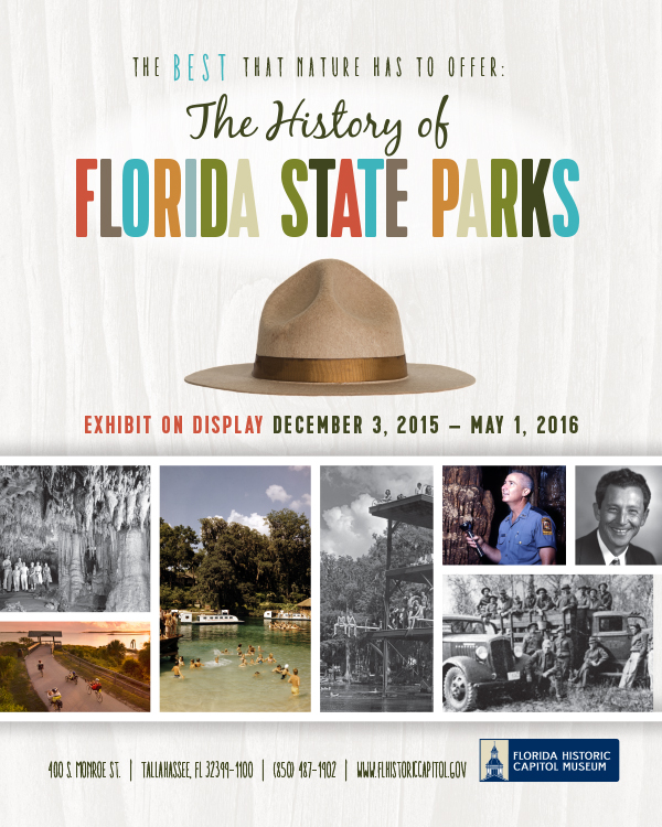 Florida State Parks Poster